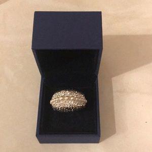 Swarovski crystal ring.